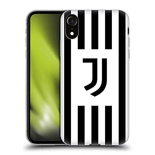 Head Case Designs Licenciado Oficialmente Juventus Football Club Home 2021/22 Match Kit Carcasa de Gel de Silicona Compatible con Apple iPhone XR