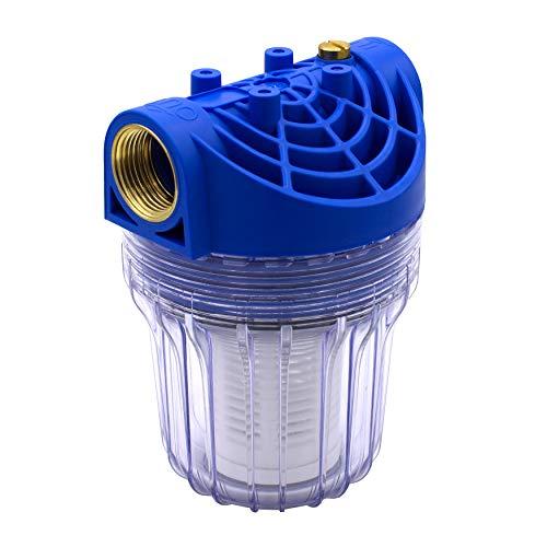 """VARIOSAN Vorfilter für Pumpen 11718, 1\"""" IG, 8 bar Betriebsdruck, 3000 l/h Durchflussmenge, 0,15 mm Maschenweite"""