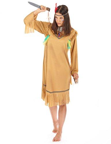 Déguisement Indienne Femme Taille Unique