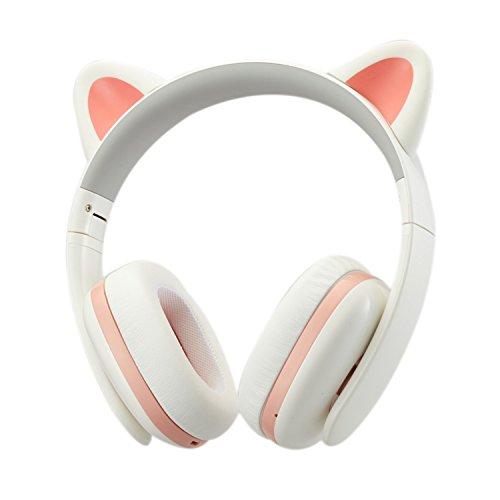 Censi Music Headset Headphone Creative Cat Ear Stereo Over-Ear