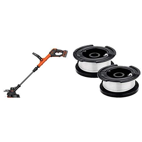 Check Out This BLACK+DECKER 20V MAX String Trimmer with Trimmer Line Replacement Spool, Autofeed 30 ...