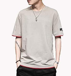 [ SmaidsxSmile(スマイズ スマイル) ] トップス 半袖 インナー Tシャツ カットソー カジュアル 無地 シンプル メンズ