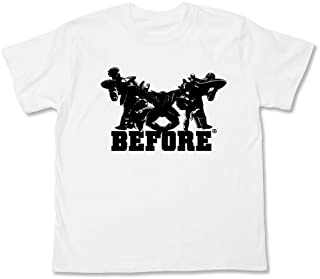 Dragon Ball Kai Ginyu Force Before After T-Shirt White (M)