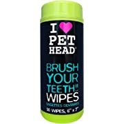 Pet Head Brush Your Teeth!! Wipes 50ct