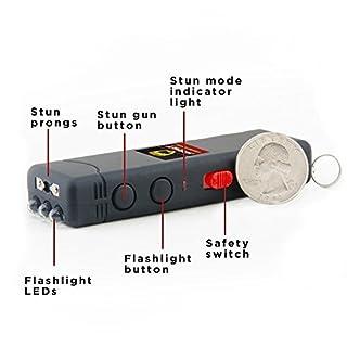 شراء Worlds Smallest Guard Dog Hornet Keychain Stun Gun with LED Flashlight, 6,000,000 Volts