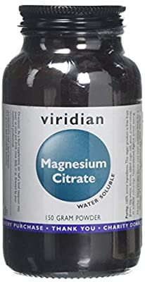 Viridian Magnesium Citrate Powder 150g by Viridian Nutrition