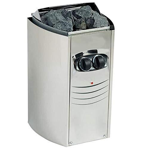 YYSDH 2020 Elektro-Saunaofen Spa Heizung mit Wärme Rocks Built-In Thermostatsteuerung Schnelle Aufheizzeiten Automatische Sicherheits On/Off Timer,9KW