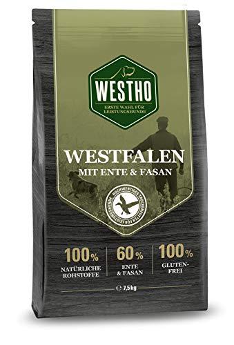 Westho Trockenfutter Westfalen 7,5kg (mit 60% Ente & Fasan)