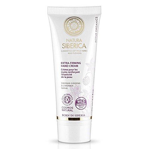 Crème pour les mains renforçant l'élasticité de la peau - Cosmétique bio de Natura Siberica