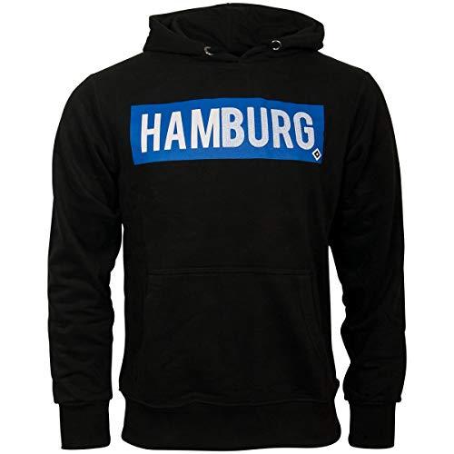 Hamburger SV HSV Hoody Kapuzenpullover Stefan schwarz Gr. XL