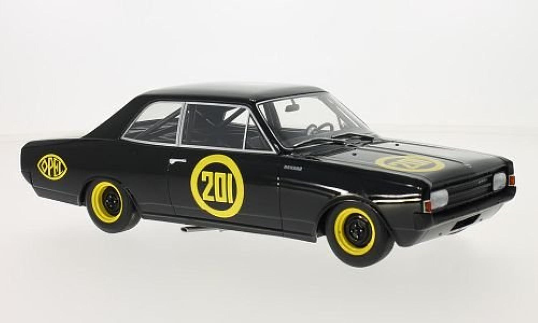Opel Rekord C, No.201, Schwarze Witwe, 1967, Modellauto, Fertigmodell, BoS-Models 1 18 B074NZM6N1 Schön  | Sonderangebot