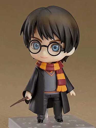 Factorydiy Animación Personaje Modelo Harry Potter Harry Potter Q Versión Arcilla Cambio de Cara Figura Adorno Alto Aproximadamente 10 CM, Adultos y fanáticos del Anime