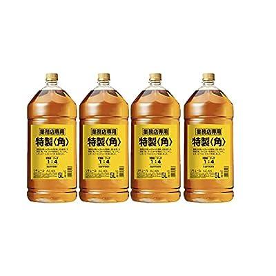サントリー 特製 角 [ ウイスキー 日本 5000ml ×4]1ケース