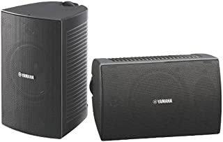 Yamaha NS-AW294BL Indoor/Outdoor 2-Way Speakers (Black,2)