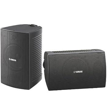 Yamaha NS-AW294BL Indoor/Outdoor 2-Way Speakers  Black,2