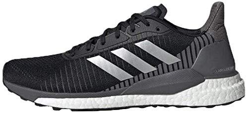 Adidas Solar Glide St 19 M, Zapatillas de Trail Running Hombre, Negro (Negbás/Plamet/Gricin 000), 47 1/3 EU