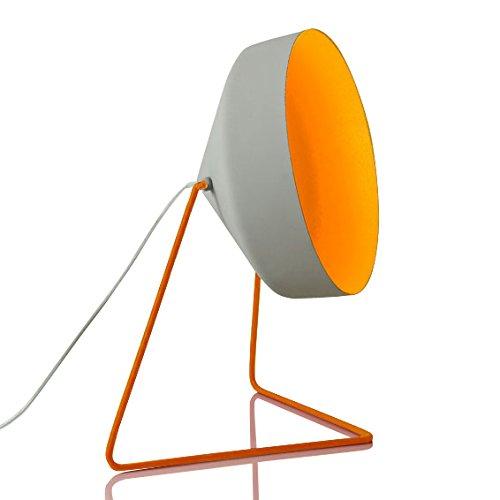 In-es.artdesign IN-ES070016G-A Cyrcus F Cemento Lampadaire Gris/Orange