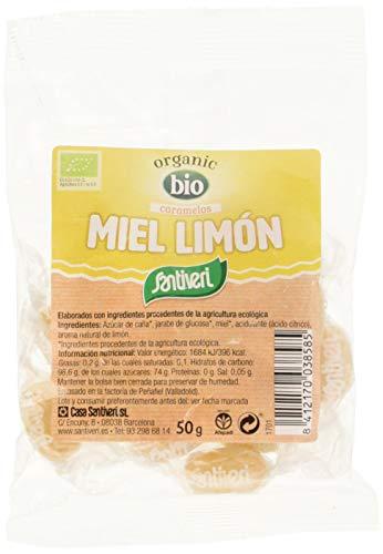 Santiveri Caramelos Bio Miel Y Limon 50G - 400 g