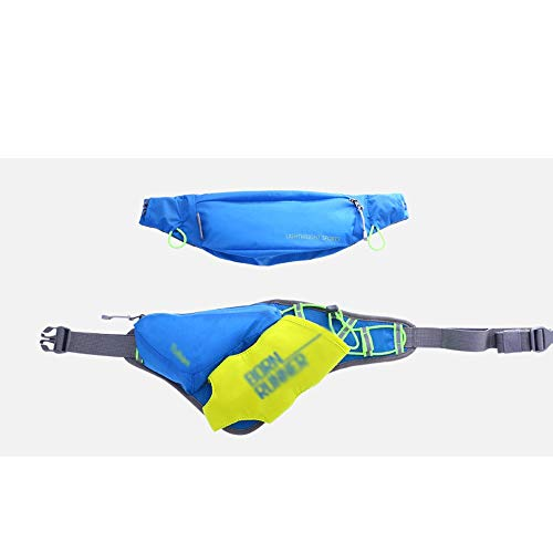 CattleBie Packs de ceinture Motion Pack de taille Sac à bandoulière Hommes ou femmes Course en plein air Taille Pack Equipement Proche du sac imperméable multifonctionnel Kettle Chest Bag Convient for