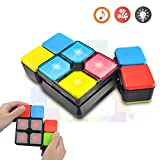 BAISIQI Joy-Fun Presents for 6-12 Year Old Boys Girls Magic Cube Speed Cube 4 Modes Music Electronic Toy for Teens Puzzle Game Kids Christmas Birthday Gifts