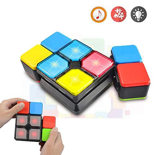 Regalos para 6-12 Años Muchachos Chicas Joy-Fun Cubo de Rubik Velocidad Cubo Mágico 4 Modos Música Electrónica Juguetes para Adolescentes Rompecabezas Juego Regalos de Cumpleaños para Niños