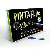 Pintafluo Pizarra Mágica Infantil para Dibujar con luz, A3