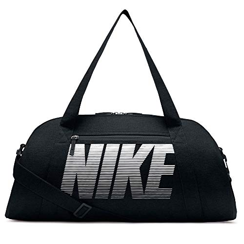 Nike Gym Club Trainingstasche, Black/Black/White, 56 x 23 x 30.5 cm