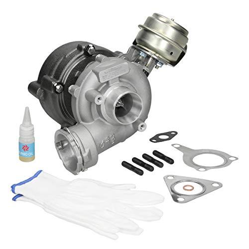 ECD Germany TL10-8313 Turbocompressore Scarico Turbo Compressore Gas di Scarico Turbina AVF BNA BPW BNA BLB AWX BSS BGW 038145702E 038145702EV 038145702EX 038145702G 038145702GV 038145702G2 per Auto