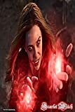 Scarlet Witch: Wanda Maximoff Marvel Women Superhero Gift Notebook Journal 6 x 9 Inches...