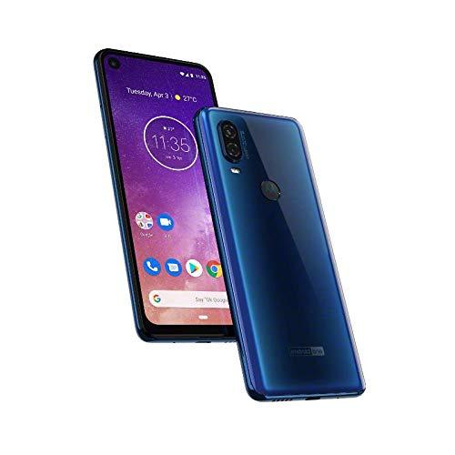 Smartphone One Vision, Motorola, Modelo XT1970-1, 128 GB, 6.34'', Azul Safira