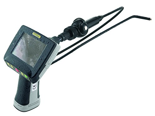 General Tools DCS665-ART Recording Borescope Video Inspection Camera with Articulating 1 Meter Long Waterproof Probe