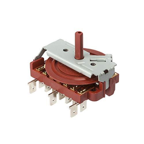 MIRTUX Selector de Horno eléctrico y Placa de Cocina Teka de 8 Posiciones sin termostato. Código del Recambio: 995444128