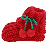 Holibanna 1 par de Zapatos de Bebé de Invierno Cálido Botines de Bebé de...