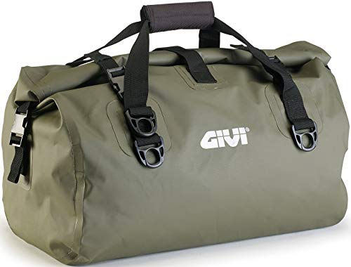 Givi EA, wasserdichte Gepäcktasche für Motorräder mit 40 Litern Fassungsvermögen, 115 kg Traglast, grün