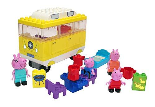Cochecito Pop Pram de Peppa Pig para muñecos bebé (Smoby