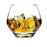 BQP Club Bar - Copas de whisky para bebidas alcohólicas y copas de vino para fiestas y bodas, Vasos de whisky de cristal, 300 ml