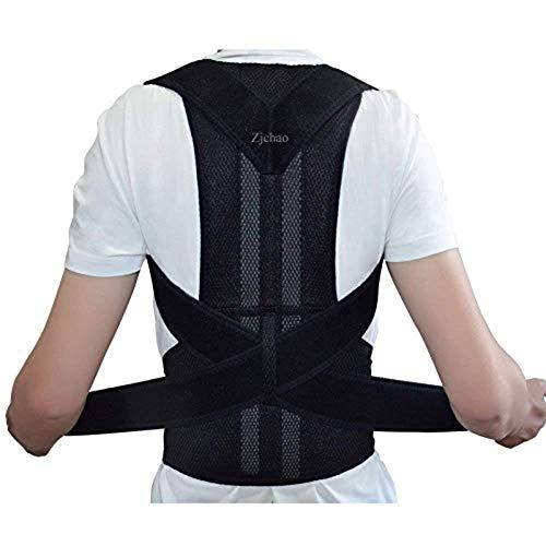 ZJchao Geradehalter Rücken Bandage zur Haltungskorrektur bei Rücken Schulterschmerzen Damen und Herren, orthopaedisch mit haltungskorrektur schulterbandage slouching (L)