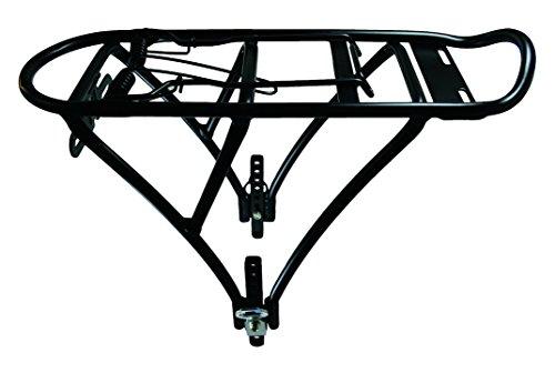 TAQ-33 Bagagerek voor kinderfiets 16-20 Inch Aluminium Zwart