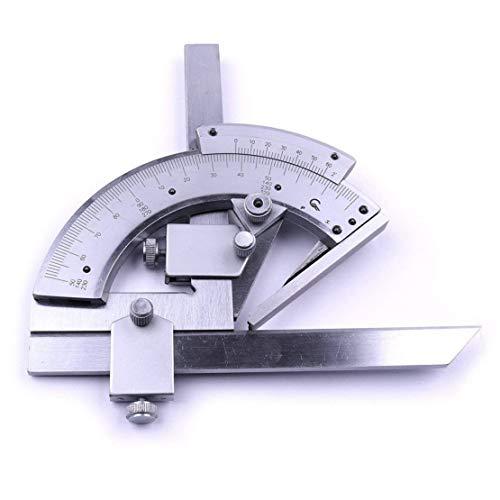 0–320° Universal Edelstahl Winkelmesser Multifunktions-eckige Lineal Goniometer, Winkel Meter Level Meter Finder gradiometer Clinometer Messwerkzeuge