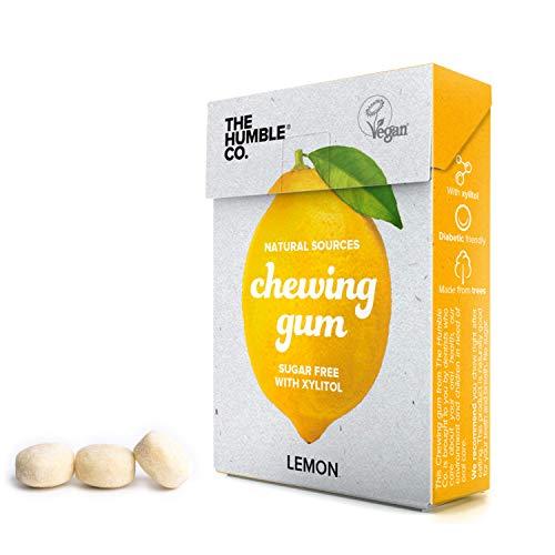 The Humble Co. Natural Chewing Gum (6pack) – Keto, Vegan, Sugar Free, Aspartame Free, Non GMO,...