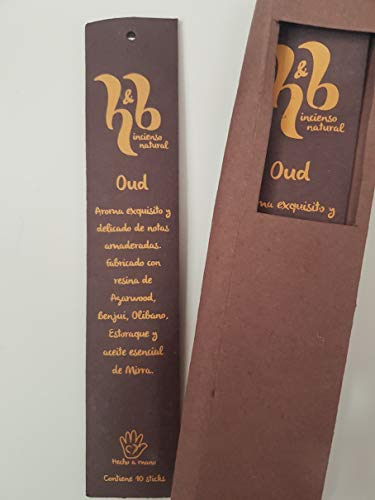 Qaromas Incienso Natural H&B Oud 15g