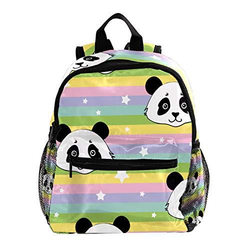 Backpack Carry On Backpack Travel Laptop Backpack,Shool Bookbag,Rainbow Panda