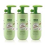 WBM Care Baby 8617-3PK Natural Liquid Hand Soap-Honey, Wheatgerm & Organic Olive Oil, (Pack of 3),...