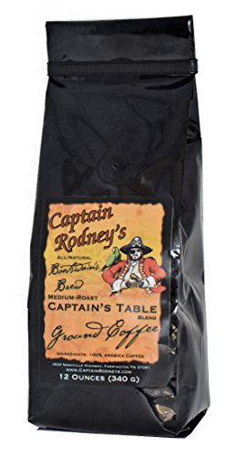 Captain Rodney's All Natural Boatswain's Brew Captain's Table Blend Coffee