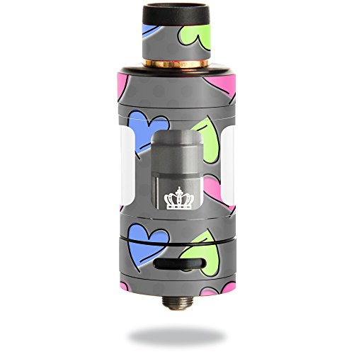 MightySkins Skin Compatible with Uwell Crown 3 Tank – Girly | Protective, Durable, and Unique Vinyl Decal wrap Cover | Easy to Apply, Remove, and Change Styles | Made in The USA