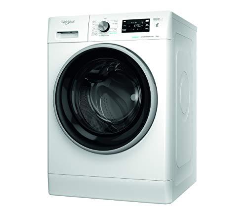 Whirlpool FFB 9468 BSV IT, Lavatrice a Carica Frontale a Libera Installazione, C, 9kg, 1400 GIRI MIN