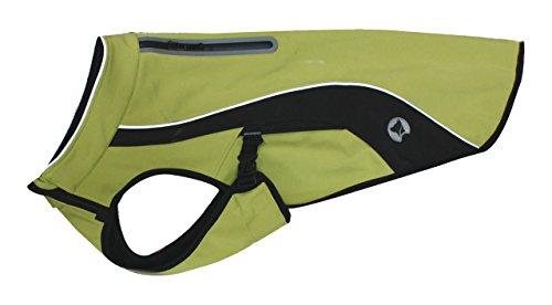 Croci C7081675 Wasserdichter Wander Schneemantel für Hunde 40 cm, Grun
