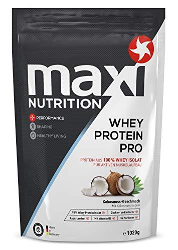 MaxiNutrition Whey Protein Isolate - Kokos, 1 x 1020 g