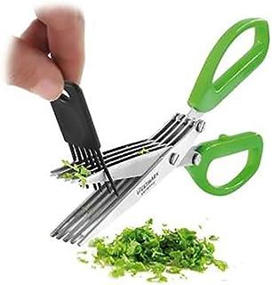 Home Stainless Steel 5 Blade Kitchen Scissors