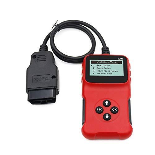 Flytise Kfz-Fehlerdetektor Kfz-Diagnosewerkzeuge Lesekarte Autoreparatur-Autodiagnosewerkzeug Motorlicht-Schnittstellenscanner prüfen